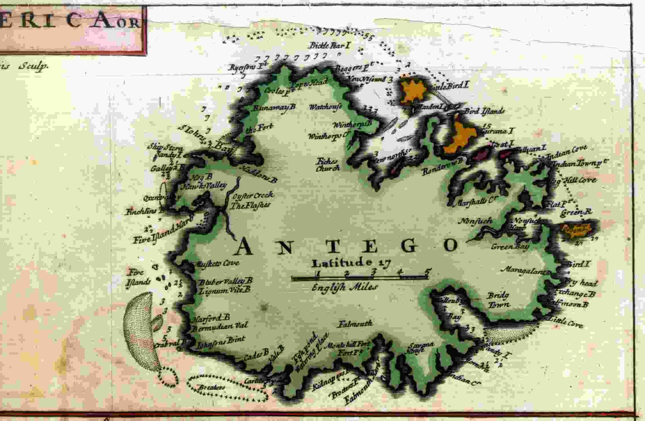 Antigua 1715
