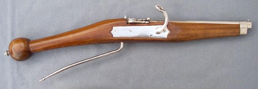 An older style matchlock pistol