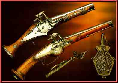 Wheellock pistols