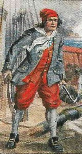 BRITISH SAILOR IN 1706 SLOPS