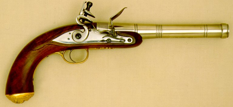 Queen Anne Pistol