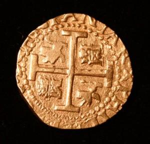 8 escudo Spanish Doubloon