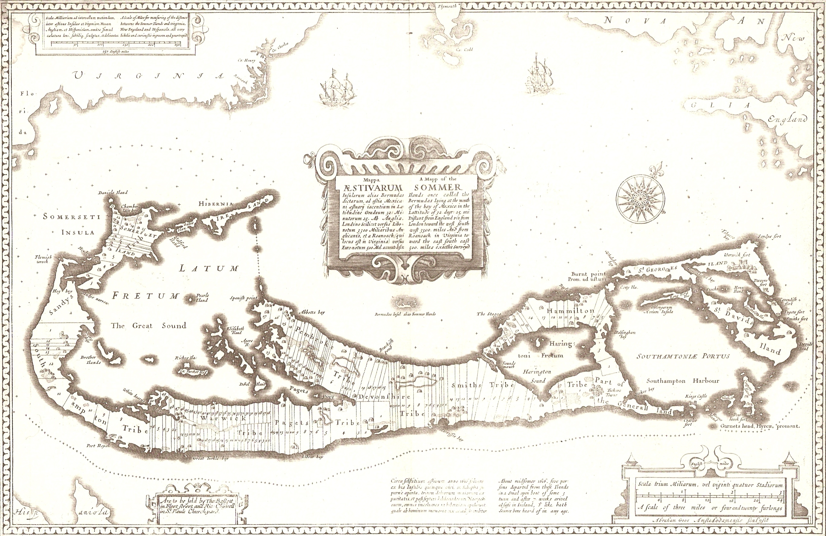 Somers Isles 1676