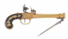 Bayonet pistol
