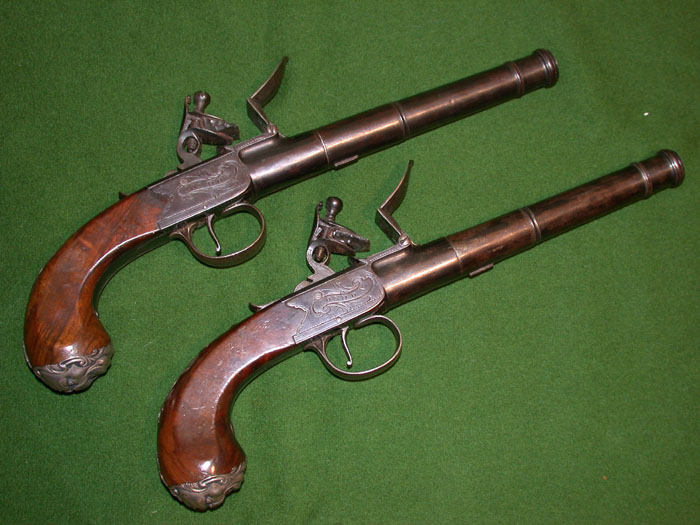 A brace of Queen Anne Pistols