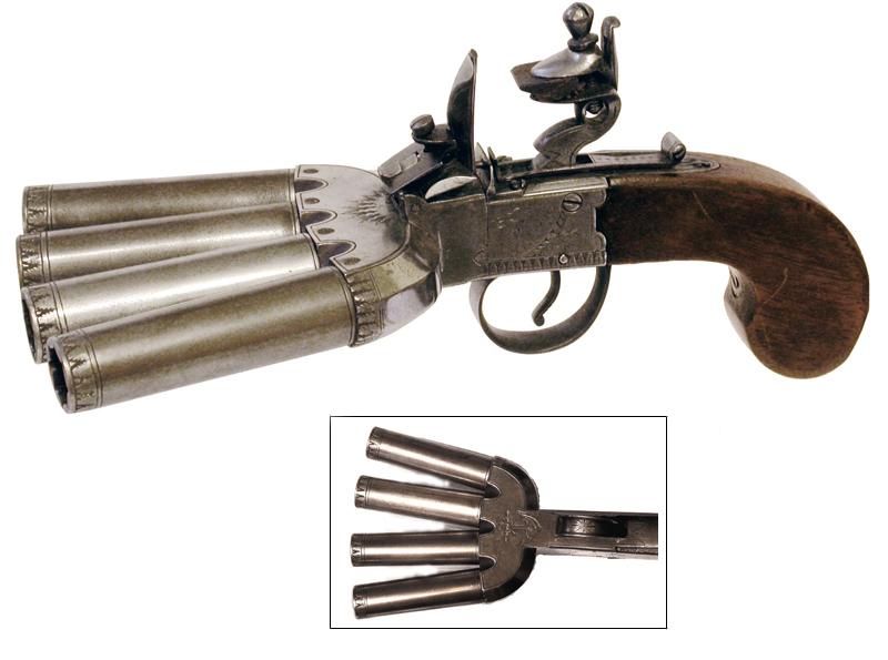 Duckfoot pistol 1