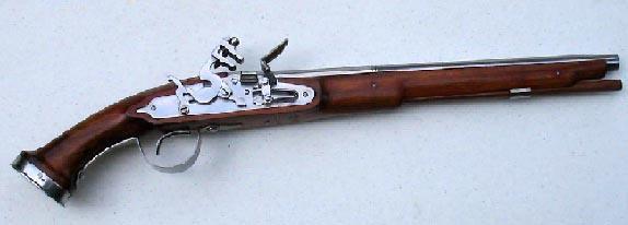 English Dog lock Horse Pistol