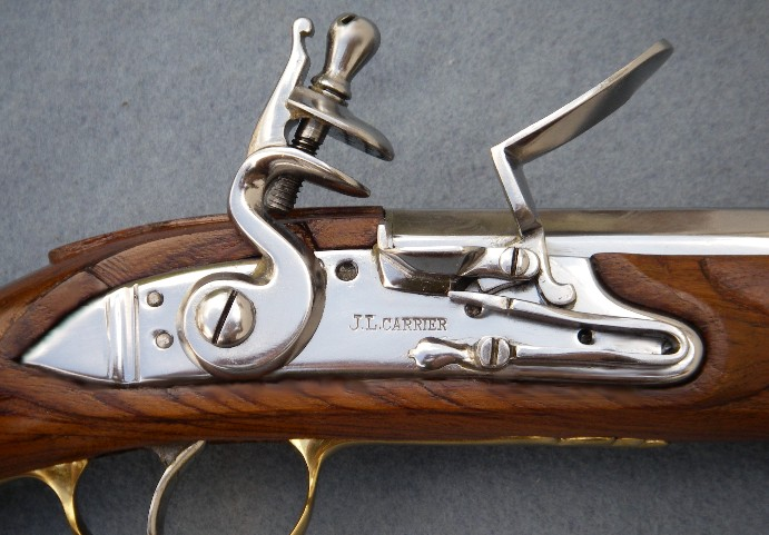 Close up of a Flintlock