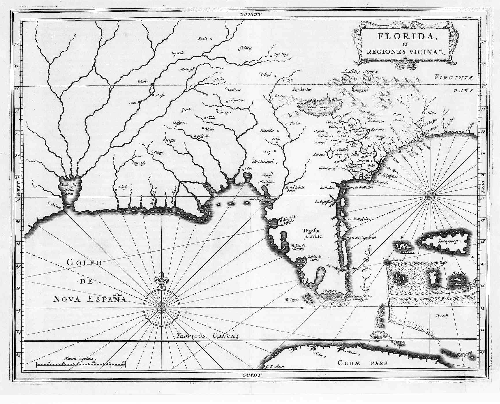 Spanish Florida 1625