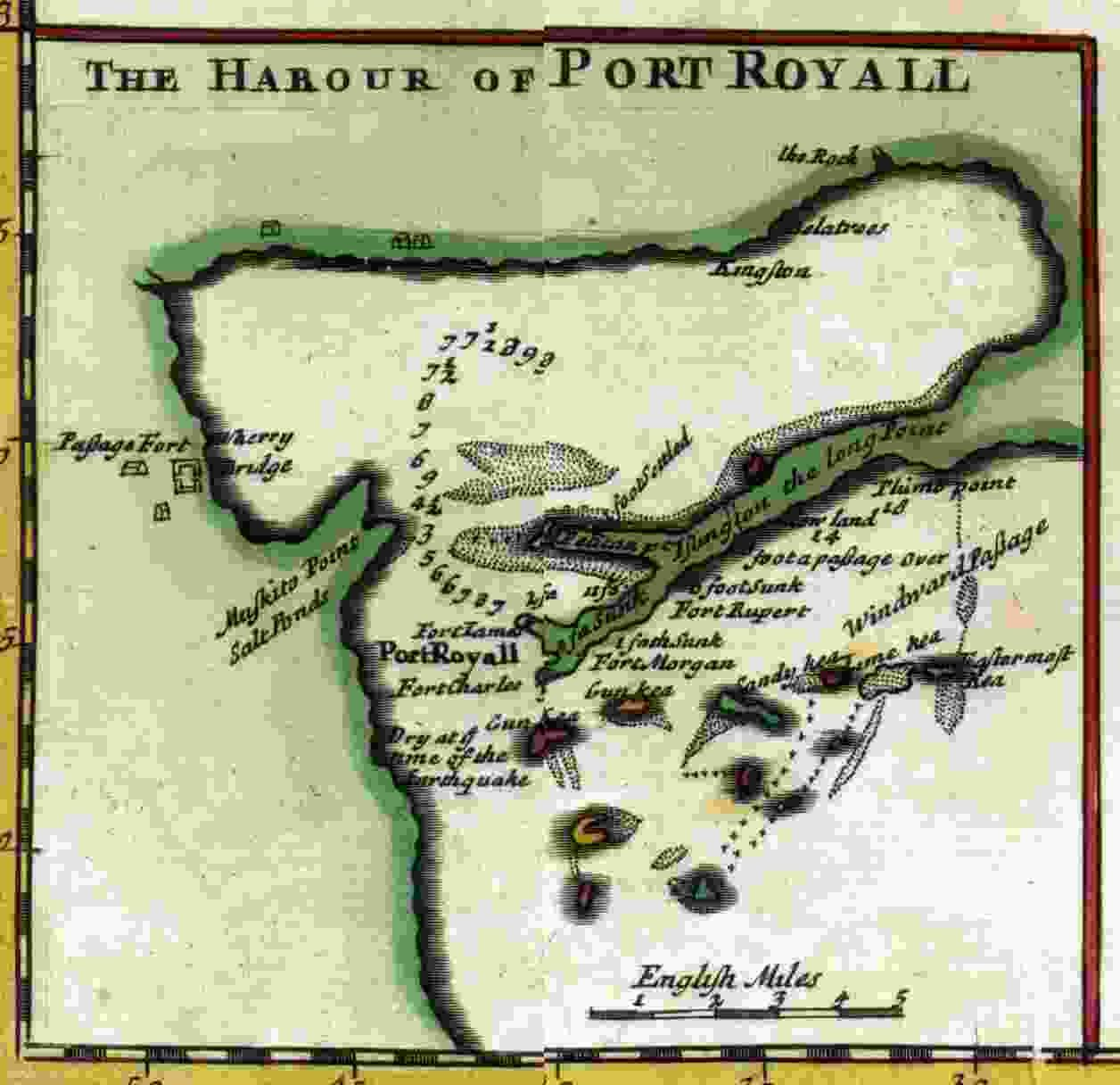 Port Royal 1715