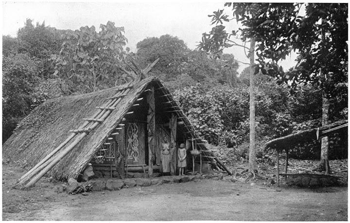 A hut in Argubo's village