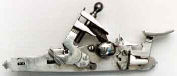 Close up of a Snaphaunce lock